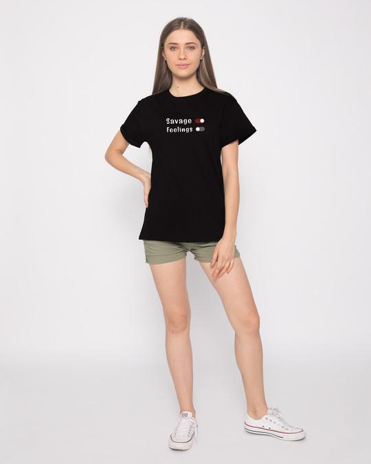 Shop Feelings Off Boyfriend T-Shirt