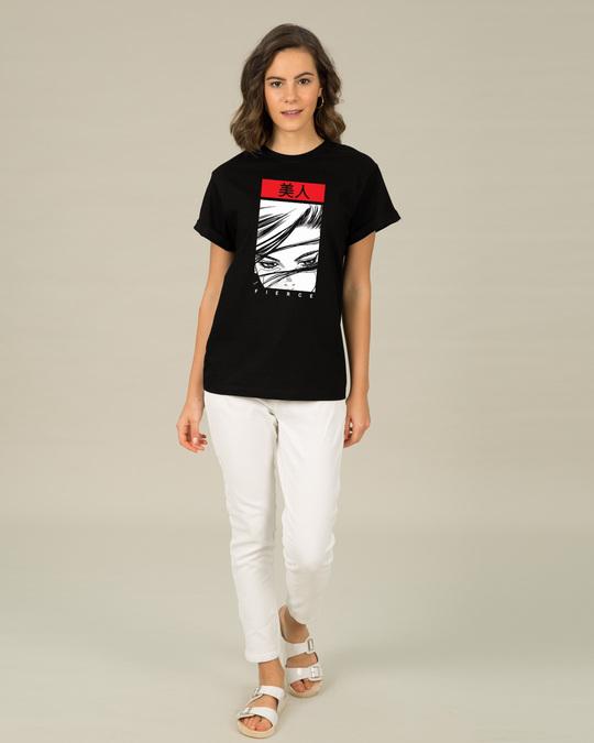 Shop Fierce & Beautiful Boyfriend T-Shirt-Design
