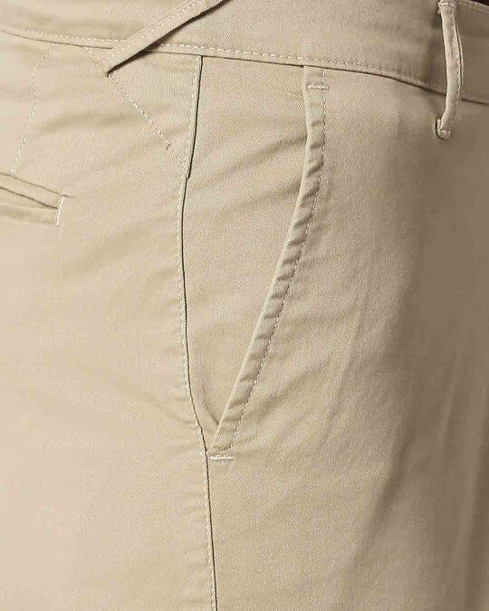Shop Khakhi Men's Chinos Shorts