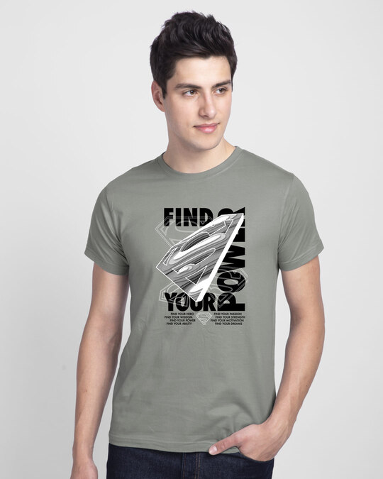 Shop Find Your Power Half Sleeve T-Shirt-Front
