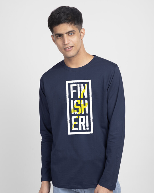 Shop Finisher  Full Sleeve T-Shirt-Front