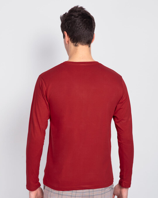 Shop Finisher Full Sleeve T-Shirt-Back