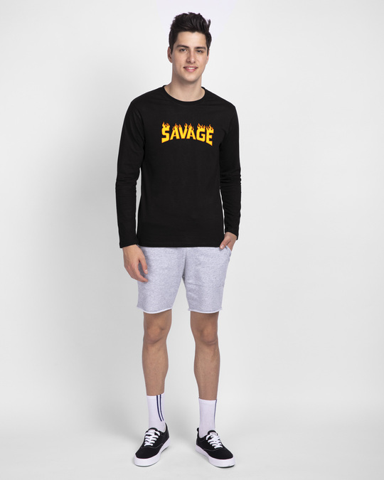 Shop Fire Savage Full Sleeve T-Shirt-Full