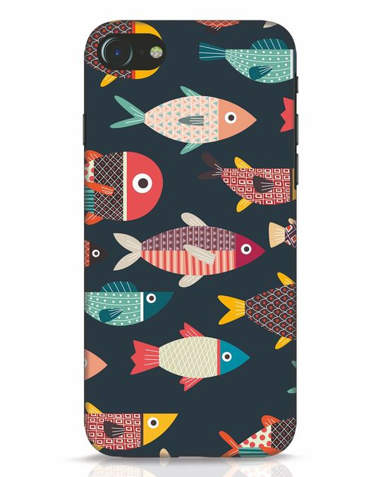 Shop Fishies iPhone 7 Mobile Cover-Front
