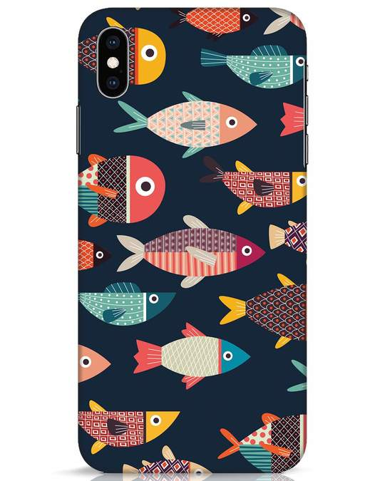 Shop Fishies iPhone XS Max Mobile Cover-Front