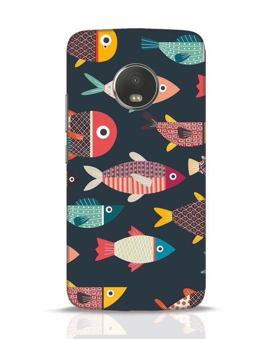 Shop Fishies Moto G5 Plus Mobile Cover-Front