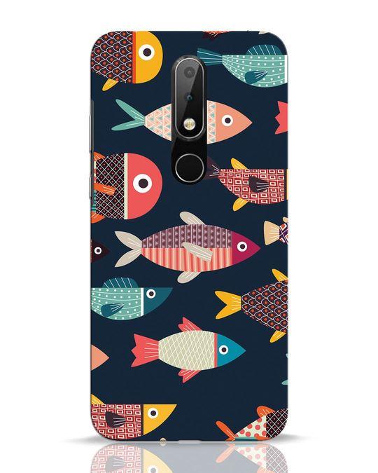 Shop Fishies Nokia 6.1 Plus Mobile Cover-Front