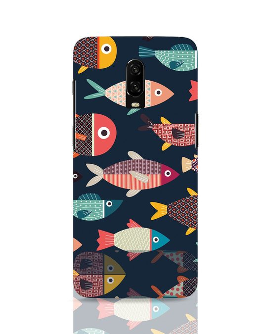 Shop Fishies OnePlus 6T Mobile Cover-Front