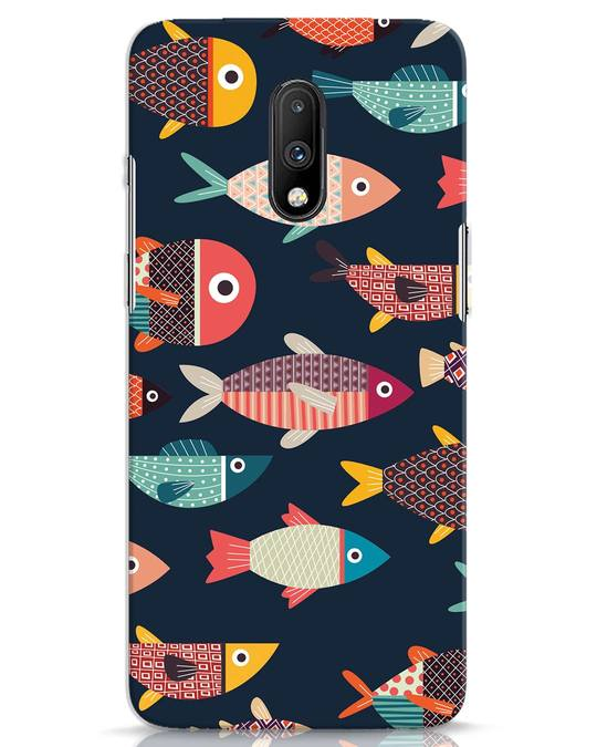Shop Fishies OnePlus 7 Mobile Cover-Front