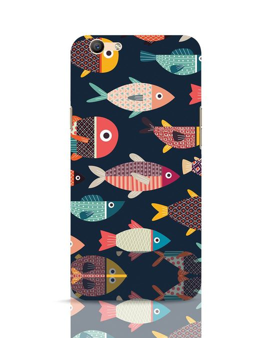 Shop Fishies Oppo F1s Mobile Cover-Front