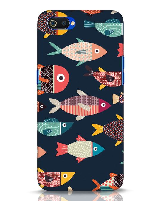 Shop Fishies Realme C2 Mobile Cover-Front