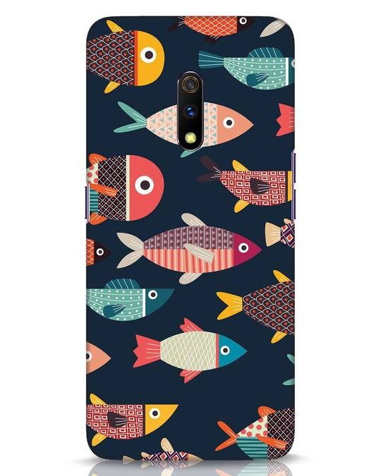 Shop Fishies Realme X Mobile Cover-Front