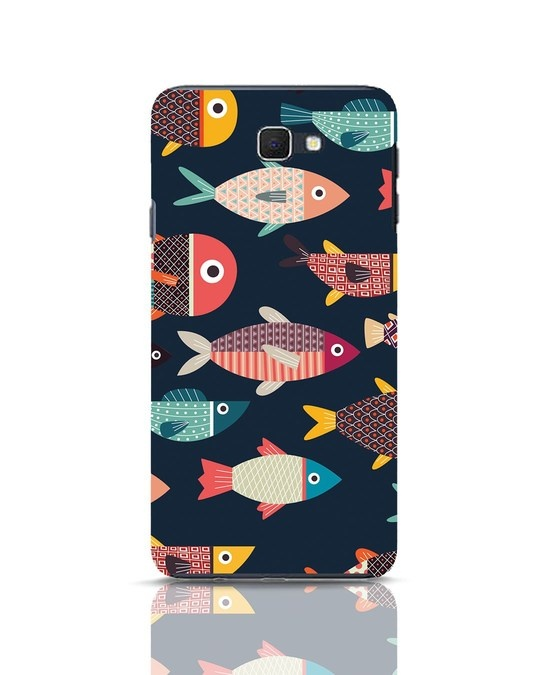 Shop Fishies Samsung Galaxy J7 Prime Mobile Cover-Front