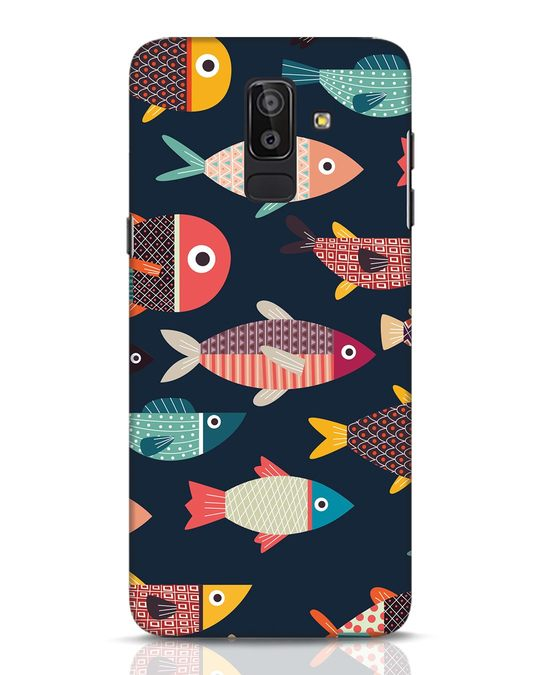 Shop Fishies Samsung Galaxy J8 Mobile Cover-Front