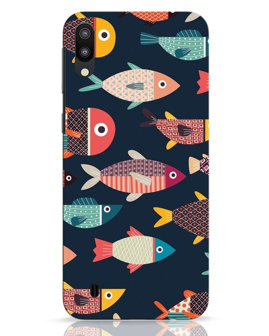 Shop Fishies Samsung Galaxy M10 Mobile Cover-Front