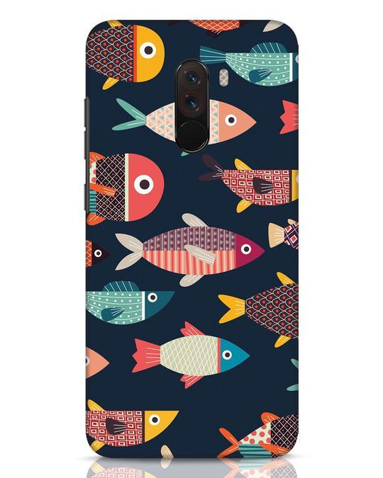 Shop Fishies Xiaomi POCO F1 Mobile Cover-Front