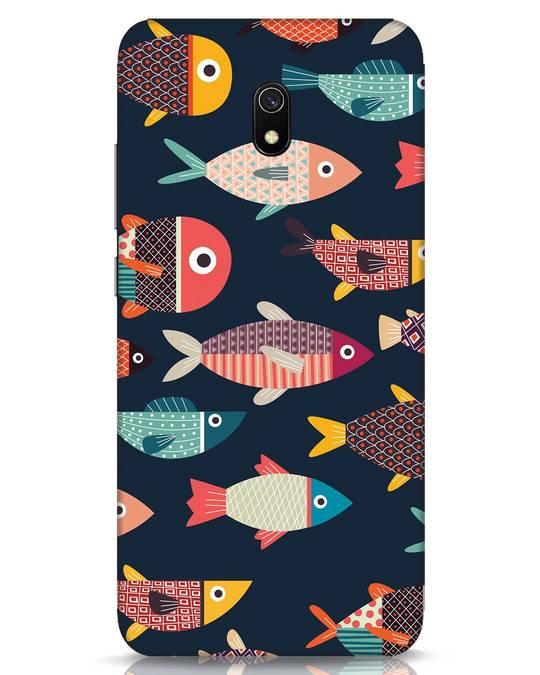 Shop Fishies Xiaomi Redmi 8A Mobile Cover-Front