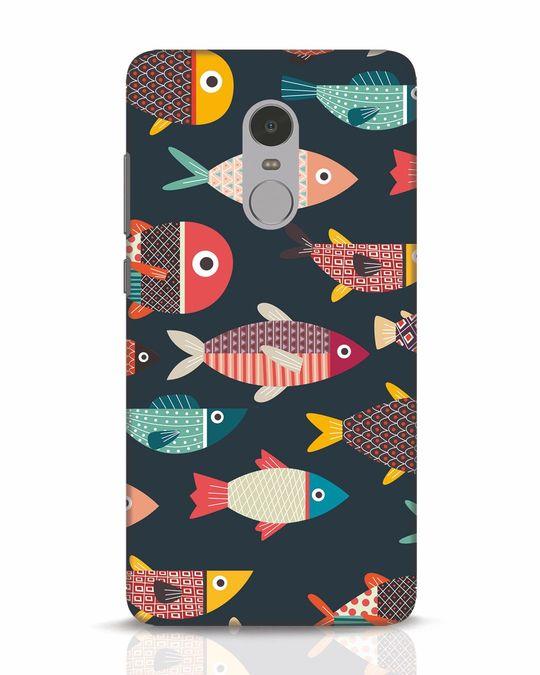 Shop Fishies Xiaomi Redmi Note 4 Mobile Cover-Front