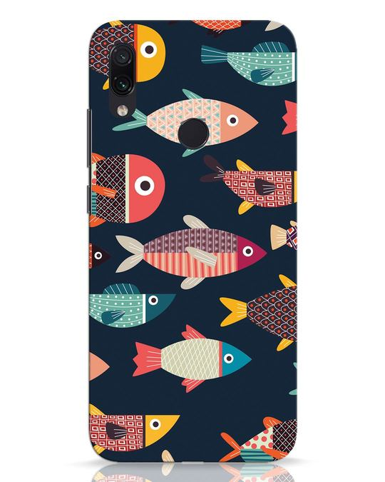 Shop Fishies Xiaomi Redmi Note 7 Pro Mobile Cover-Front