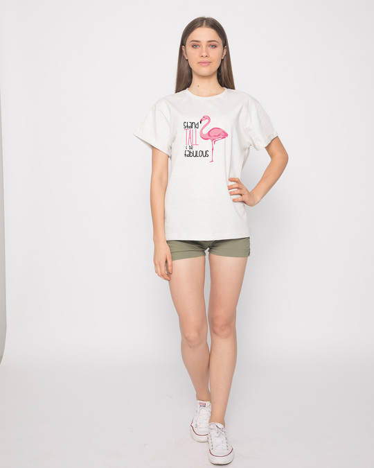 Shop Flamingo Fabulous Boyfriend T-Shirt