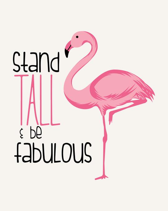 Shop Flamingo Fabulous Scoop Neck Full Sleeve T-Shirt-Full