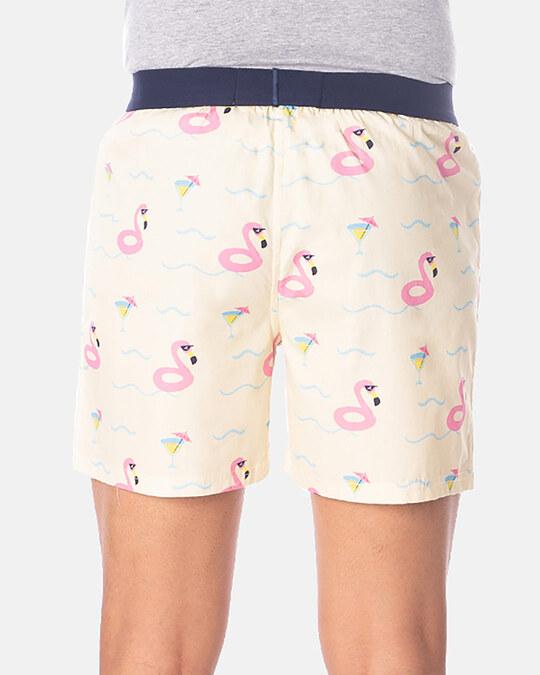 Shop Smugglerz Flamingo Float Boxer Pink-Design
