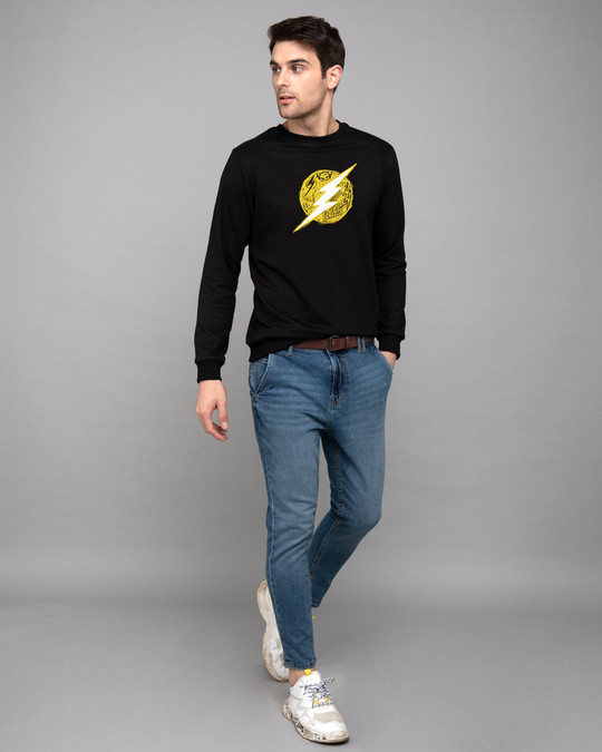 Shop Flash Doodle Logo Fleece Light Sweatshirt (FL)-Design