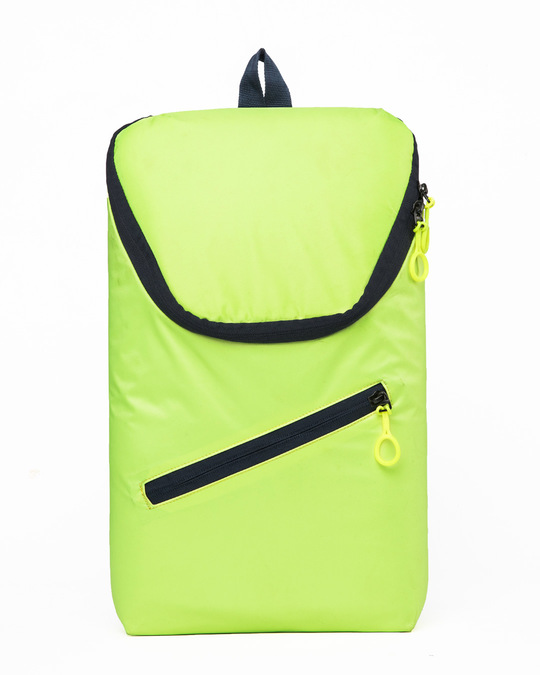 Shop Flash Green Mini Backpack-Front