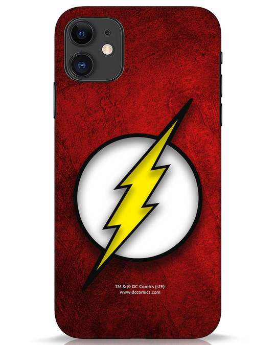 Shop Flash Logo iPhone 11 Mobile Cover (BML)-Front