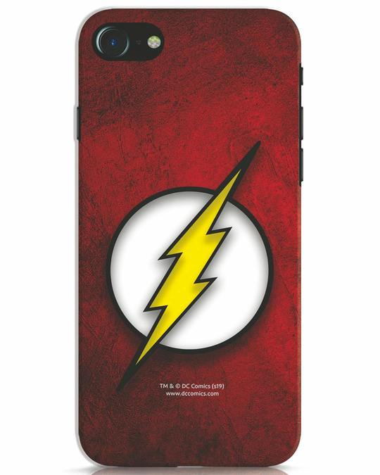 Shop Flash Logo iPhone 7 Mobile Cover (BML)-Front