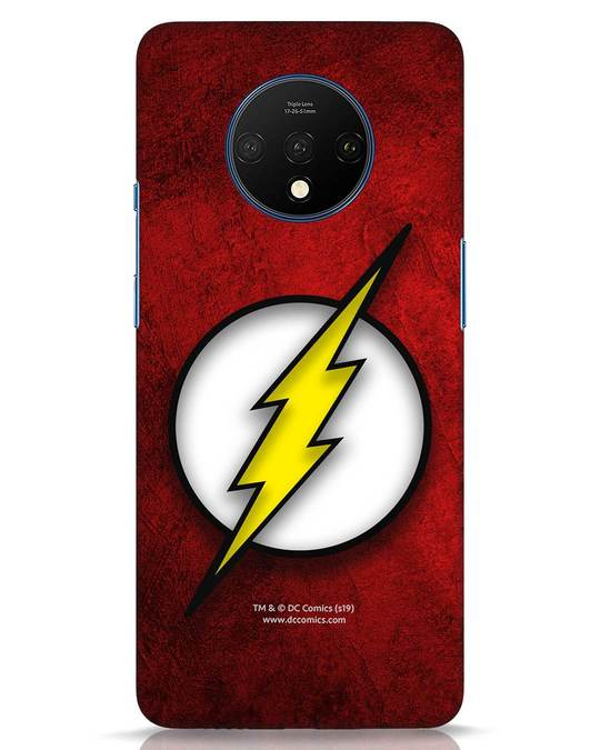 Shop Flash Logo OnePlus 7T Mobile Cover (BML)-Front