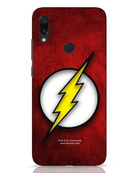 Shop Flash Logo Xiaomi Redmi Note 7 Pro Mobile Cover (BML)-Front