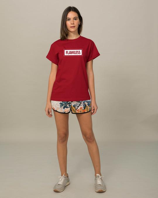 Shop Flawless Bold Boyfriend T-Shirt-Full