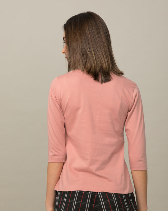 Shop Flawsome Round Neck 3/4th Sleeve T-Shirt-Back