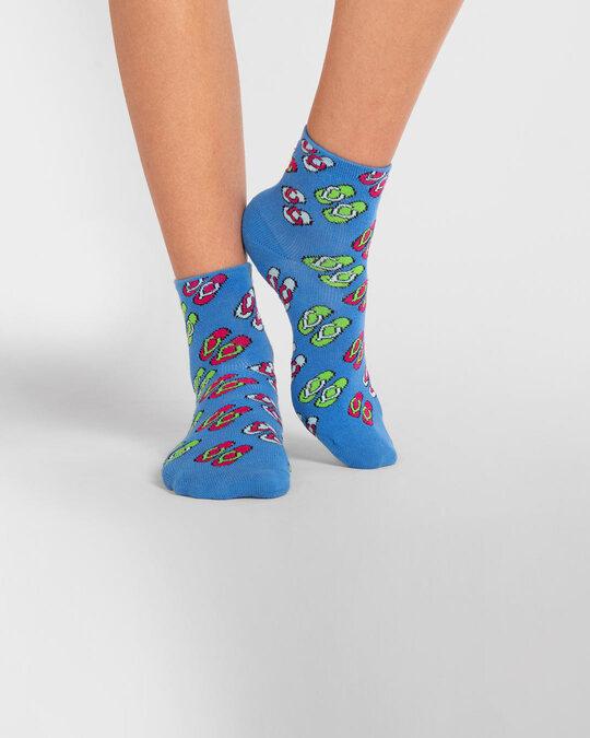Shop Women's Flip Flops Ankle Length Socks-Design