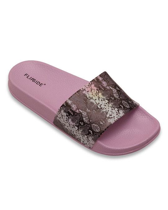 Shop Ladies Viper Purple Sliders