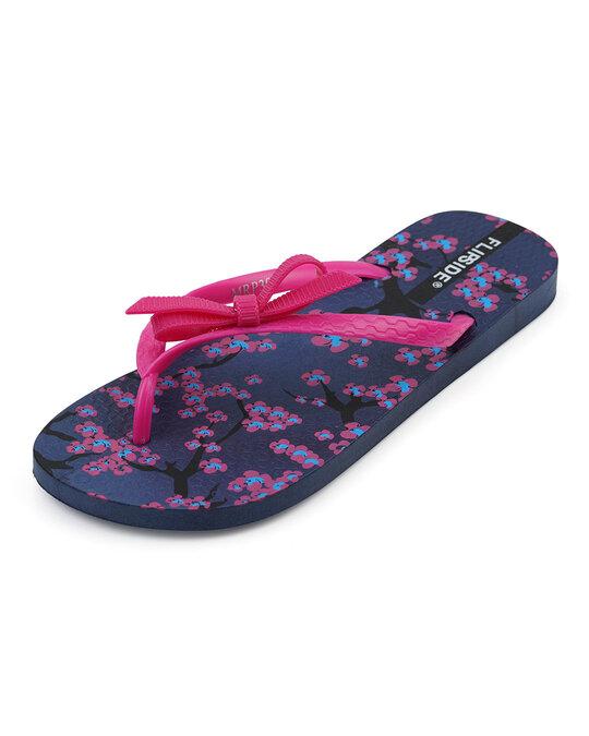 Shop Womens Anne Purple Flipflops-Front