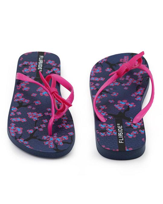 Shop Womens Anne Purple Flipflops-Full