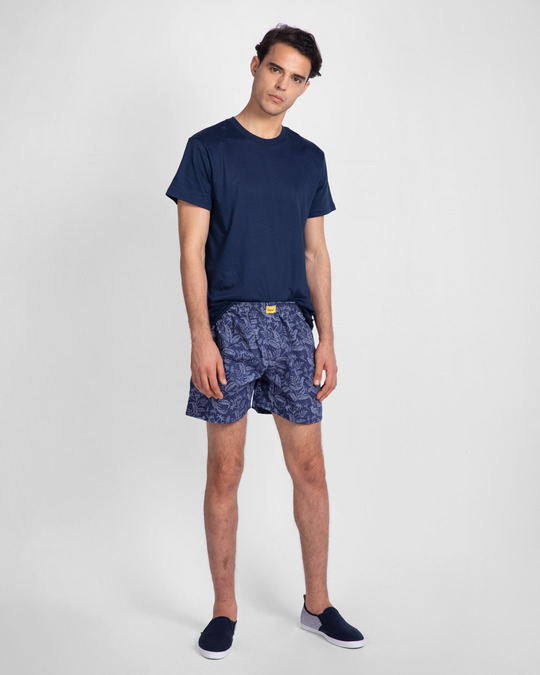Shop Flora And Fauna All Over Printed Boxer-Full