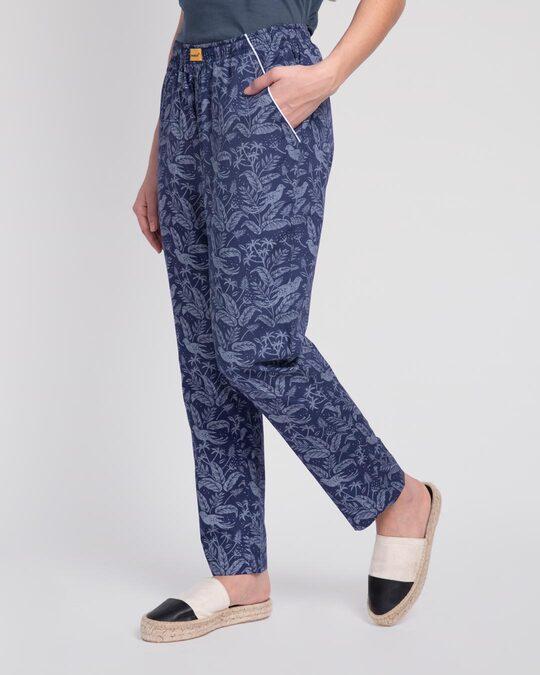 Shop Flora And Fauna All Over Printed Pyjama-Back