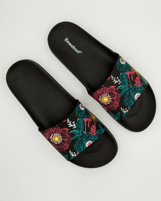 Shop Floral Sliders-Front