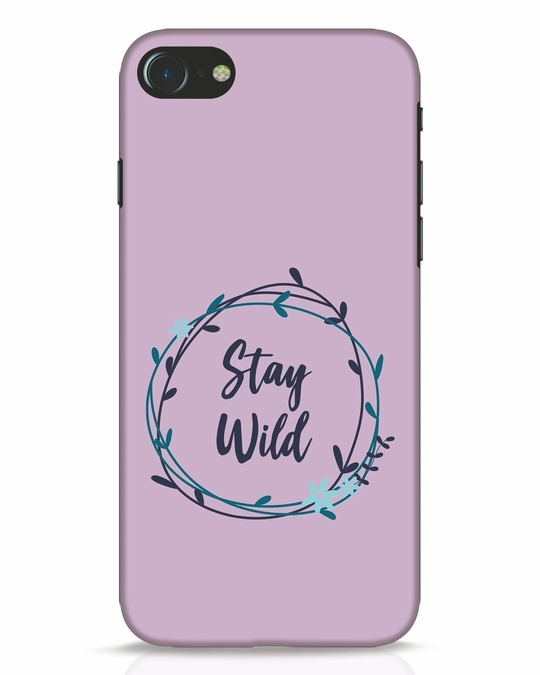 Shop Floral Stay Wild iPhone 7 Mobile Cover-Front