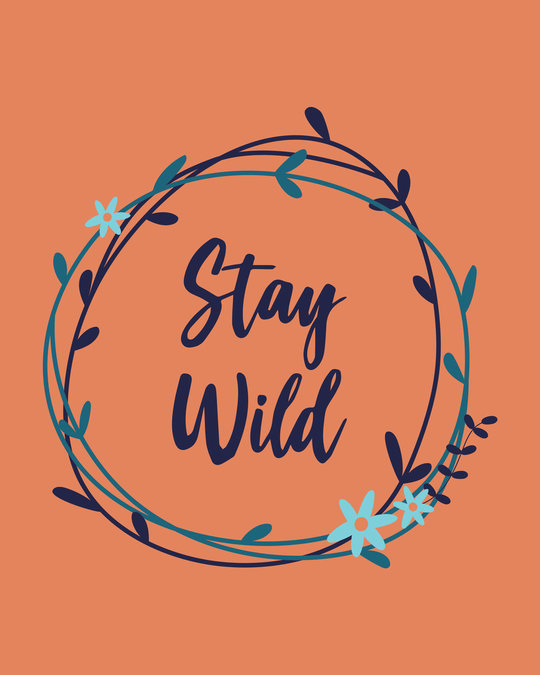 Shop Floral Stay Wild Sweatshirt
