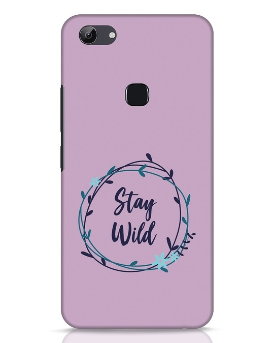 Shop Floral Stay Wild Vivo Y83 Mobile Cover-Front