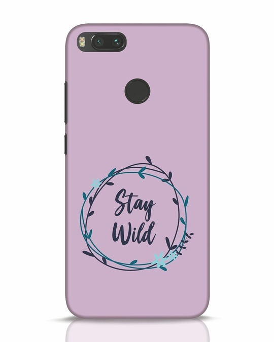 Shop Floral Stay Wild Xiaomi Mi A1 Mobile Cover-Front