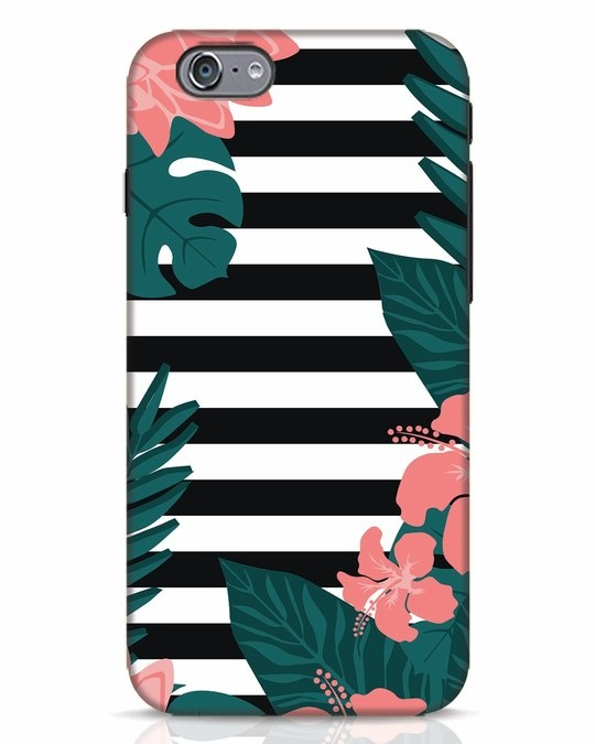 Shop Floral Stripes iPhone 6s Mobile Cover-Front