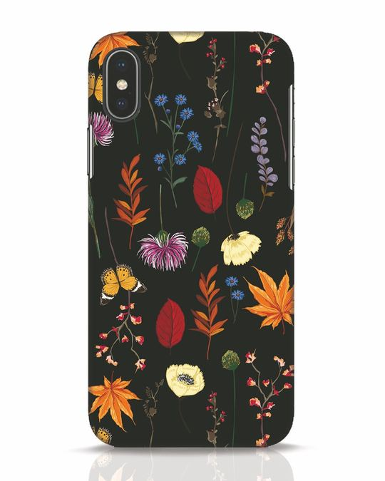 Shop Flowers iPhone X Mobile Cover-Front