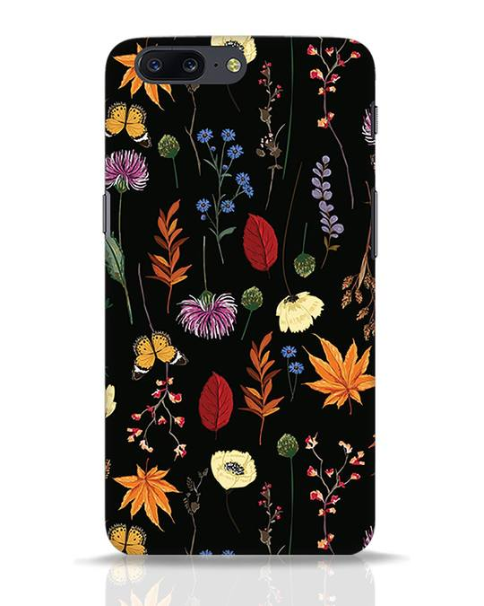 Shop Flowers OnePlus 5 Mobile Cover-Front