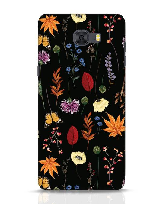 Shop Flowers Samsung Galaxy C9 Pro Mobile Cover-Front