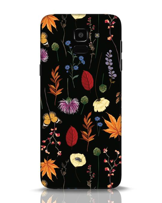 Shop Flowers Samsung Galaxy J6 Mobile Cover-Front